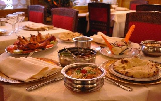 plats nirvana restaurant indien